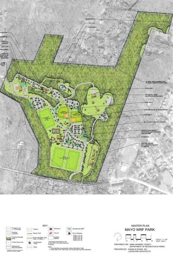 Mayo WRF Park Master Plan
