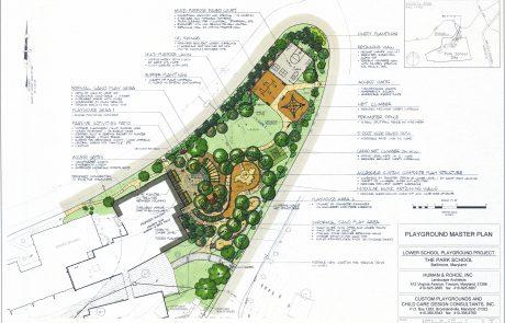 Park School master plan